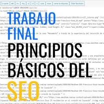 Mi Proyecto del curso: Principios básicos de SEO . Um projeto de Marketing e Marketing digital de César Eugenio - 18.07.2020