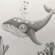 Mi Proyecto del curso: Técnicas de ilustración artística con grafito. Un progetto di Illustrazione infantile di Alex Lizarraga - 19.07.2020