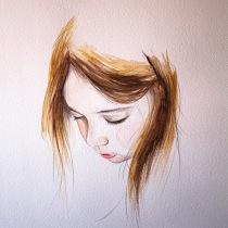 Mi Proyecto del curso: Retrato en acuarela a partir de una fotografía. Um projeto de Desenho de Susana López Martín - 27.07.2020