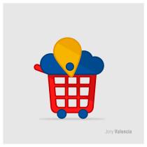 Mi Proyecto del curso: Logo para ventas virtuales. Un proyecto de Diseño de Jony Fernando Valencia Gómez - 27.07.2020