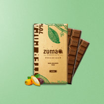 Packaging Zuma Chocolate. A Br, ing, Identit, Packaging, and Logo Design project by César Quispe Cuya - 11.25.2019