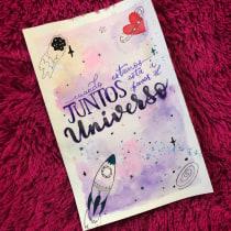 Mi Proyecto del curso: Caligrafía con pinceles de agua para principiantes. Un proyecto de Lettering de Daniela Navarrete Torres - 31.07.2020