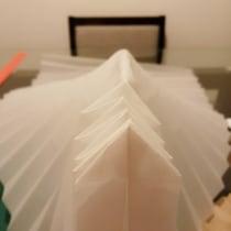 Mi Proyecto del curso: Creación de lámparas de origami con papel. . A Paper Craft project by Carlos Canales Cerro - 08.04.2020