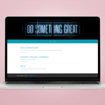 Do Something Great: el blog participativo. A Design, UI / UX, Grafikdesign, Webdesign und Webentwicklung project by Isabel Crespo - 07.08.2020