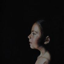 Mi Proyecto del curso: Retrato creativo en claroscuro con lápiz. A Drawing project by Susana López Martín - 08.08.2020