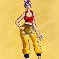Mi Proyecto del curso: Creación de personajes estilo urbano. Un proyecto de Animación de personajes de Monica Contini - 11.08.2020