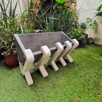 Mi Proyecto del curso: Creación de muebles en concreto para principiantes. Un progetto di Design, Design di mobili, Design industriale, Interior Design, Product Design, Design di giocattoli, Creatività e Interior Design di Raquel Olson - 17.08.2020