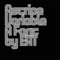 Astripe Variable. A Motion Graphics, T, pograph, T, pograph, and design project by Eduardo Aire Torres - 04.20.2020