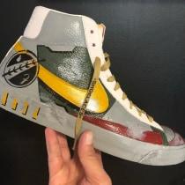 Boba Fett sneakers. Un proyecto de Concept Art de Javier Rivera Verduzco - 26.08.2020