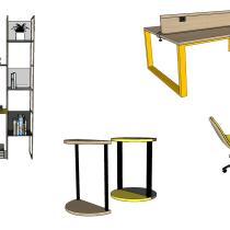 Mi Proyecto del curso: Diseño de muebles y objetos para principiantes. A Furniture Design, Interior Design, Decoration & Interior Decoration project by Mariana Mercerat - 08.27.2020