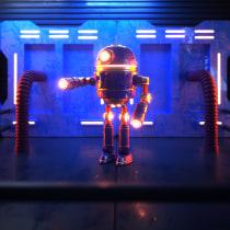 Mi Proyecto del curso: Composiciones con Cinema 4D y OctaneRender. Un progetto di 3D, Graphic Design, Arte concettuale, Character design 3D , e Progettazione 3D di jesus labarca - 28.08.2020