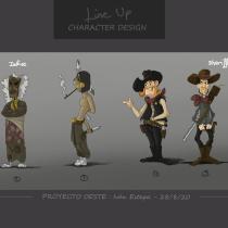 Mi Proyecto del curso: Ilustración para proyectos de animación y videojuegos. Un proyecto de Diseño de personajes, Animación 2D y Concept Art de Iván Estepa Flores - 31.08.2020