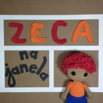 Zeca na janela. A Architecture, Character animation, and Creating with Kids project by Jana Lopes - 08.31.2020