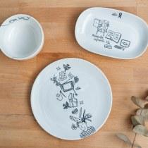 Set de aperitivo: Una historia de Chichinabo. Um projeto de Design, Ilustração e Cerâmica de CHICHINABO INC - 11.09.2020