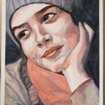 Mi Proyecto del curso: Retrato artístico en acuarela. A Watercolor Painting project by tpazlla - 09.11.2020