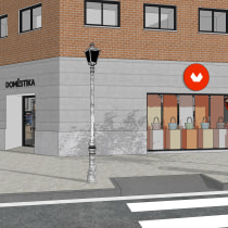 Mi Proyecto del curso: Creación de proyectos de interiorismo con SketchUp. Un proyecto de 3D, Arquitectura, Arquitectura interior, Modelado 3D, Decoración de interiores, Diseño 3D, Interiorismo, Diseño de espacios comerciales y Visualización arquitectónica de Alexandra Proaño Gonzales - 14.09.2020