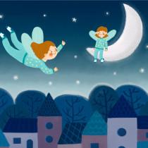Mi Proyecto del curso: Ilustración infantil para publicaciones editoriales. Un progetto di Illustrazione, Illustrazione digitale e Illustrazione infantile di Ariadna Cisternas Buenaño - 18.09.2020