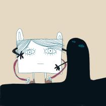 Mi Proyecto del curso: Ilustración y creación de GIF en Procreate. Un proyecto de Ilustración, Animación 2D, Creatividad e Ilustración digital de Ana Márquez - 18.09.2020