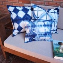 Mi Proyecto del curso: Introducción al teñido shibori. Un proyecto de Artesanía de Maria Alejandra Somale - 18.09.2020