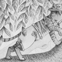 My project in Visual Storytelling with Graphite for Beginners course. A Illustration project by Cristina Ragusa - 09.19.2020
