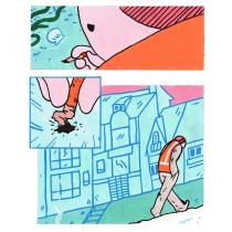 Shell, A Graphic Novel Project. Um projeto de Ilustração e Comic de baviguier - 21.09.2020