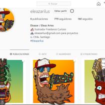 Mi Proyecto del curso: Creación de contenido creativo para Instagram. A Digital illustration project by Eleazar Castro - 09.25.2020