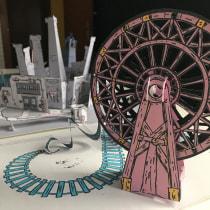 Mi Proyecto del curso: Técnicas avanzadas para la creación de libros pop-up. A Crafts, Creativit, Bookbinding, and DIY project by fatima_puig - 09.26.2020