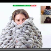 Mi Proyecto del curso: Introducción al arm knitting y teñido de lana. Un proyecto de Concept Art de Nina Aravena - 27.09.2020