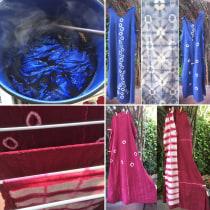 Mi Proyecto del curso: Introducción al teñido shibori. Un proyecto de Costura de 4lejandramora - 22.09.2020