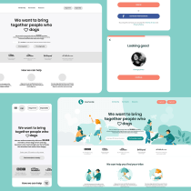 User experience overhaul for dog sharing community to improve homepage conversion and the registration process. Um projeto de UI / UX de ghimpeteanuangi - 29.09.2020