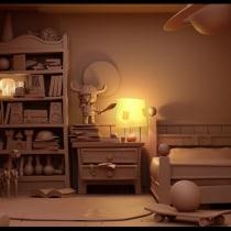 Habitación de niño. Clement Griselain. Un proyecto de Modelado 3D de Gonzalo Palma Menéndez - 04.10.2020