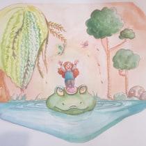 My project in Illustration Techniques with Watercolor and Gouache course. Un proyecto de Ilustración de Marine Karmann - 12.10.2020