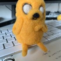 I made Jake from Adventure Time.. Um projeto de To e Art de Gustavo Forster - 12.10.2020