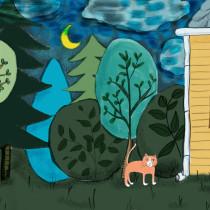 My project in Picturebook Creation course. Un progetto di Illustrazione infantile di Rátkai Rita - 15.10.2020