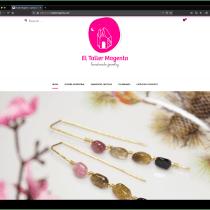 Mi Proyecto del curso: Creación de mi tienda El Taller Magenta. Un proyecto de e-commerce de Isabel Esquivel - 23.10.2020