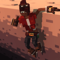 Introduction to Voxel Art for Character Design course - Final Project. A 3D Animation, and 3D Character Design project by Aaron O'Rourke - 10.24.2020