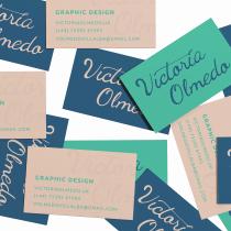 Mi Proyecto del curso: Lettering cursivo para logotipos. Un proyecto de Br, ing e Identidad y Lettering de Victoria Olmedo Villalba - 26.10.2020