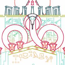 Duat, a Line Illustration Project. Un proyecto de Ilustración vectorial de baviguier - 26.10.2020