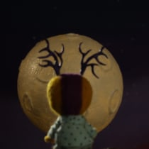 Moon. A Animation, and Stop Motion project by Mariana Salino - 10.28.2020
