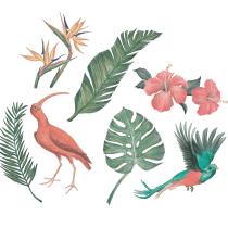 Diseño y composición de patterns textiles: sección de portfolio. Um projeto de Ilustração, Design de moda e Ilustração têxtil de Andy - 05.11.2020