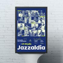 Jazzaldia   Cartel animado. Un proyecto de Motion Graphics, Animación, Diseño gráfico, Vídeo, Diseño de carteles, Edición de vídeo, Diseño digital y Comunicación de Ainhoa Urigoitia - 07.11.2020