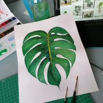 Mi Proyecto del curso: Acuarela botánica para estampados. Um projeto de Ilustração botânica de Ana Villanueva Gil - 14.11.2020