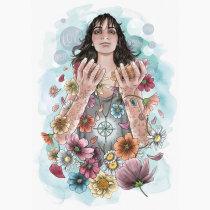Mi Proyecto del curso: Ilustración creativa: composición y color. A Illustration project by Loreto del Castillo - 11.15.2020