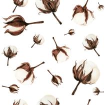 Mi Proyecto del curso: Acuarela botánica para estampados. A Pattern Design, Watercolor Painting, and Botanical illustration project by Trini hoolala - 11.18.2020