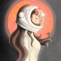 Marte. A Illustration und Digitale Zeichnung project by Lorena Maqueda - 19.11.2020