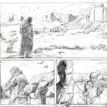 My project in Pencil Drawing for Superhero Comics course. Un proyecto de Cómic de Paolo Boccardi - 23.11.2020