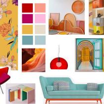 Shoes & Accessories store - My project in Color applied to Interior Design. Un proyecto de Diseño de interiores de Carolina Barros - 24.11.2020