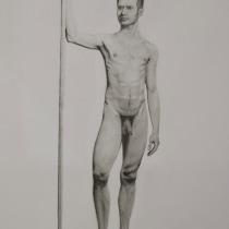 Mi Proyecto del curso: Dibujo realista de la figura humana. Un proyecto de Dibujo a lápiz, Dibujo y Dibujo realista de Alfred Agustín Moncosí - 24.11.2020