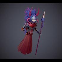 Mi Proyecto del curso: Modelado de personajes en Maya. Un proyecto de 3D, Modelado 3D y Diseño 3D de Daniel Pérez Viera - 24.11.2020