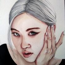 Mi Proyecto del curso: Retrato en acuarela a partir de una fotografía. Um projeto de Pintura em aquarela e Desenho de Retrato de aida_david - 25.11.2020